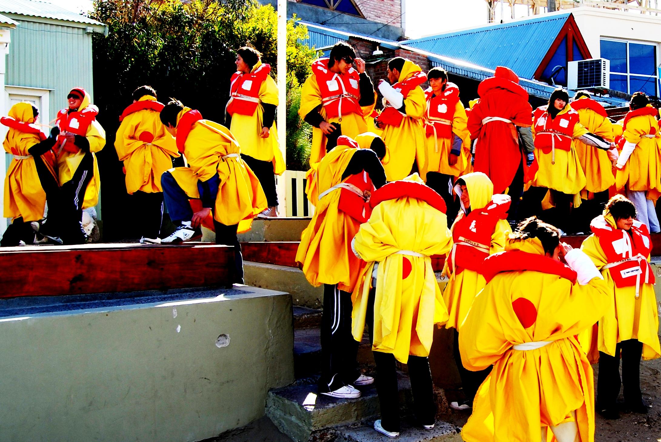 Yellow Students